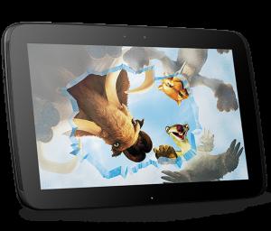 nouvelle tablette tactile de goole, nexus 10