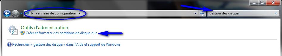 Disque dur pas reconnu sur windows